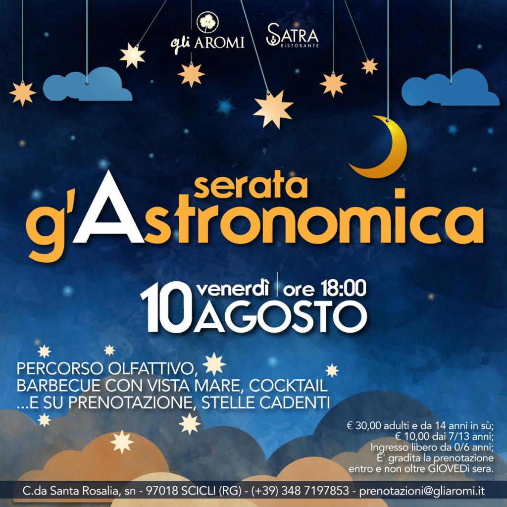 SERATA-G'ASTRONOMICA-EVENTO